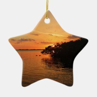 Night Glow Ceramic Ornament