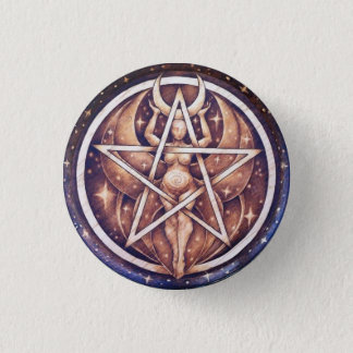 Night Goddess Pentacle Pin
