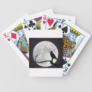 Night Hawk Bicycle Playing Cards