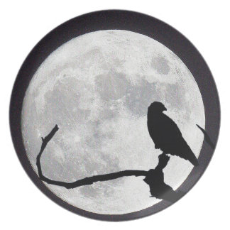 Night Hawk Dinner Plates