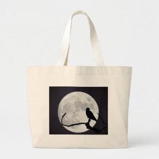 Night Hawk Large Tote Bag