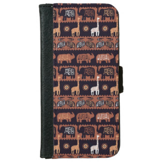 Night in Africa iPhone 6 Wallet Case