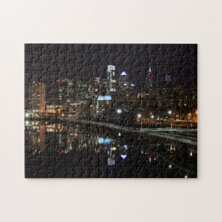 Night in Philly Jigsaw Puzzle
