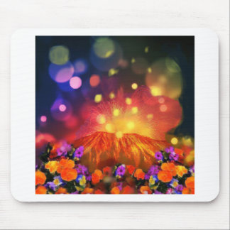 Night is full of color enjoying life mouse pad
