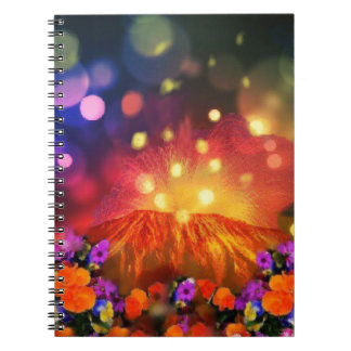 Night is full of color enjoying life notebook