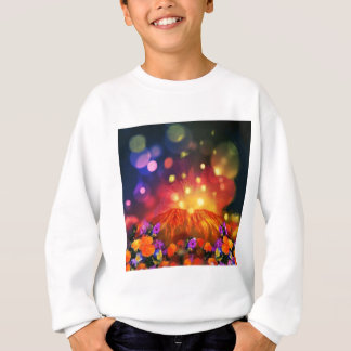 Night is full of color enjoying life sweatshirt