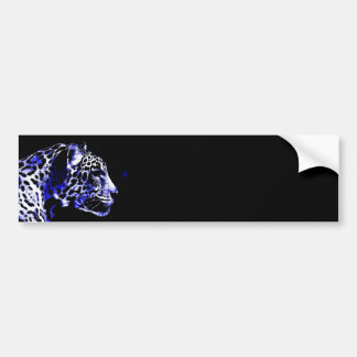Night Jaguar Bumper Sticker
