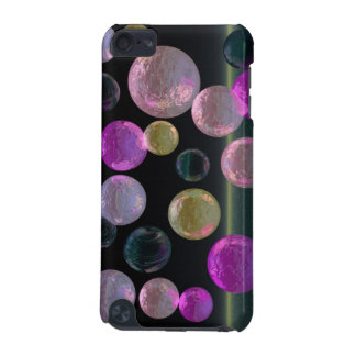 Night Jewels – Magenta and Black Brilliance iPod Touch (5th Generation) Case