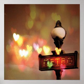 Night Life Paris Poster
