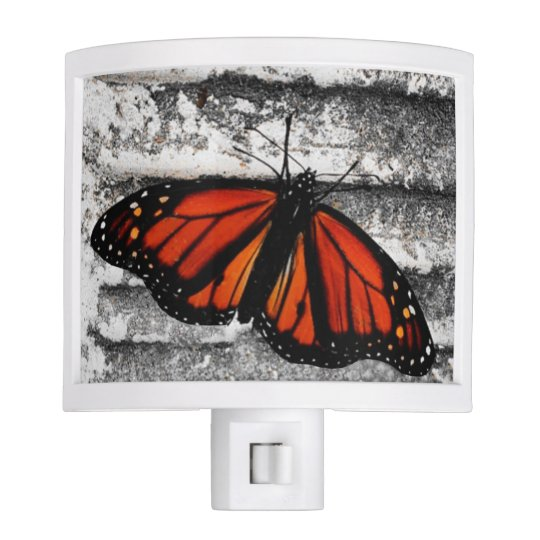 Night Light with Butterfly