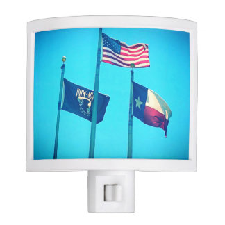Night Light with Flags