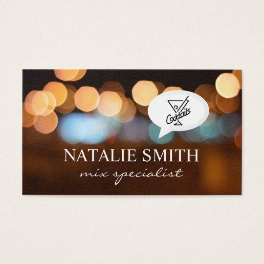 Night Lights / Mixology Business Card