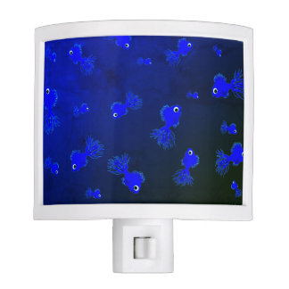 "Night Lite ""Little Blue Fishies"""
