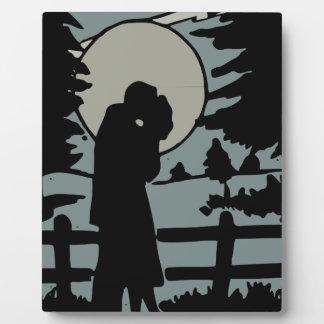 Night love plaque