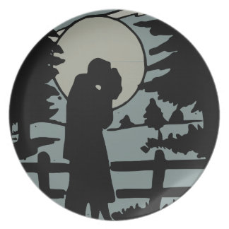 Night love plate