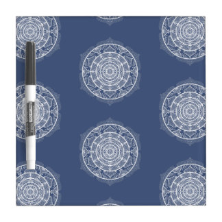 Night Mandala Dry Erase Board