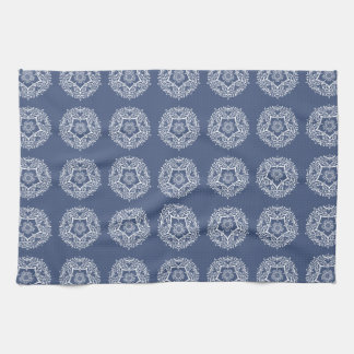 Night Mandala Kitchen Towel