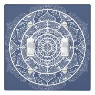 Night Mandala Light Switch Cover