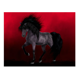 Night Mare Gothic Art Postcard