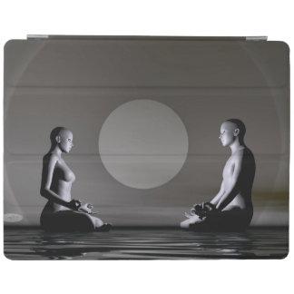 Night meditation - 3D render iPad Cover