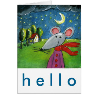 Night Mouse Card
