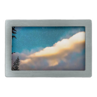 Night Moves Rectangular Belt Buckles