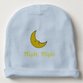Night, Night, Custom Baby Cotton Beanie Baby Beanie