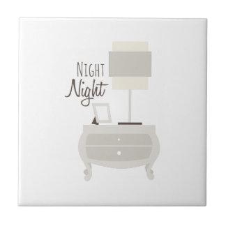 Night Night Tile