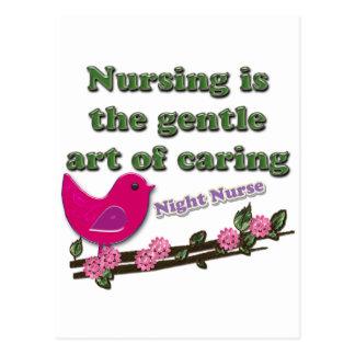 Night Nurse Postcard