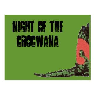 night of the crocwana postcard