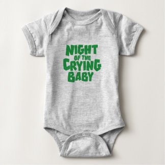 Night of the Crying Baby T-Shirt Design