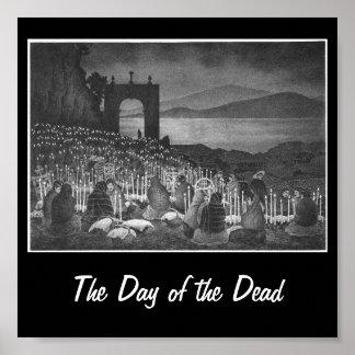 Night of the Dead. Janitzio, Mexico. Circa 1958 Poster