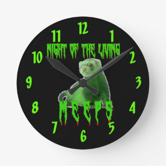 night of the living meeps round clock