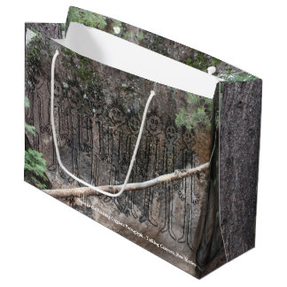 Night of the Walking Gigglers Petroglyph Large Gift Bag
