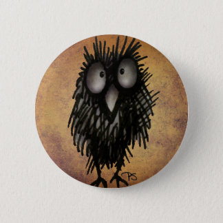 Night Owl Art for Owl Lovers 2 Inch Round Button