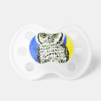 Night Owl Art Pacifiers