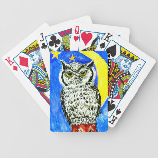 Night Owl Art Poker Deck