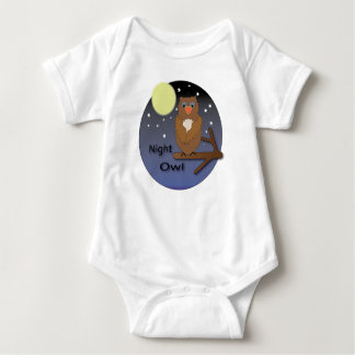 Night Owl Baby Onsie Baby Bodysuit