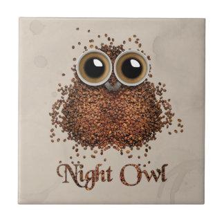 Night Owl Ceramic Tile