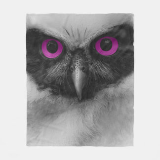 Night Owl...Cozy Fleece Blanket