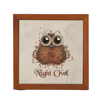 Night Owl Desk Organizer