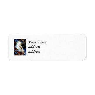 Night Owl Custom Return Address Labels