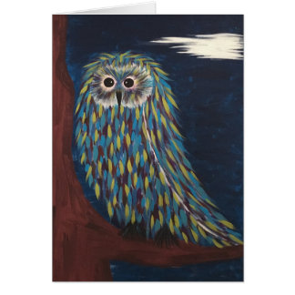 Night Owl note cards