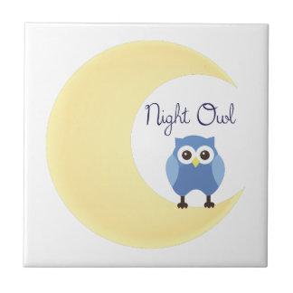 Night Owl Ceramic Tiles