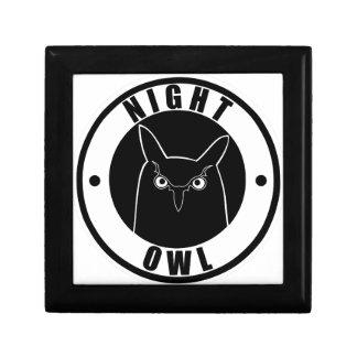 Night Owl Trinket Boxes