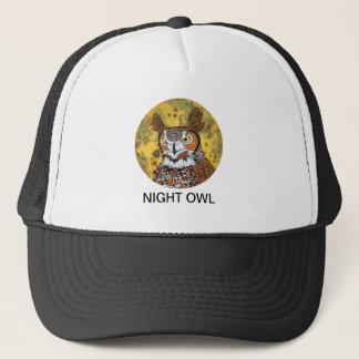 NIGHT OWL TRUCKER HAT