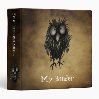 Night Owl Vinyl Binders