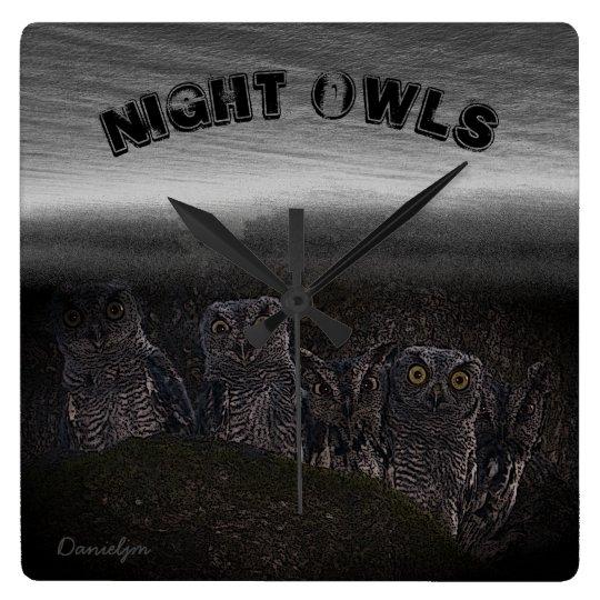 Night Owls Clock