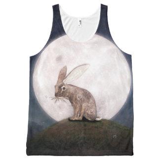 Night Rabbit All-Over-Print Tank Top