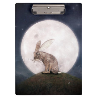 Night Rabbit Clipboard